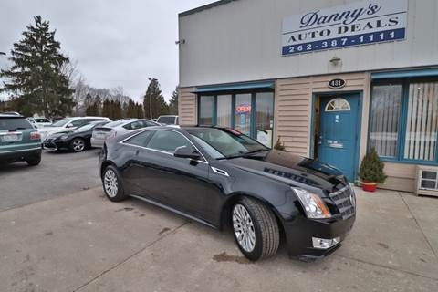 2011 Cadillac CTS for sale at Danny's Auto Deals in Grafton WI