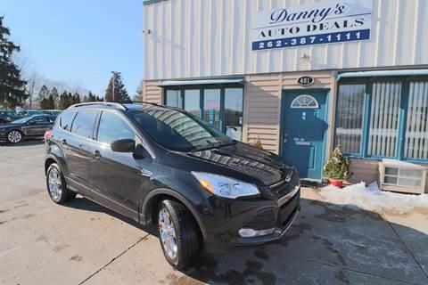2013 Ford Escape for sale at Danny's Auto Deals in Grafton WI