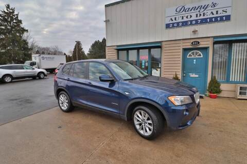 2013 BMW X3 for sale at Danny's Auto Deals in Grafton WI