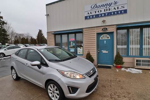2013 Ford Fiesta for sale at Danny's Auto Deals in Grafton WI
