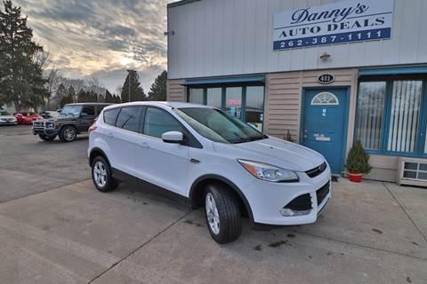 2016 Ford Escape for sale at Danny's Auto Deals in Grafton WI