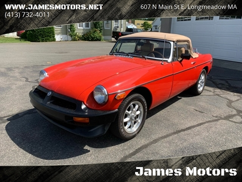 1976 MG MGB for sale in East Longmeadow, MA