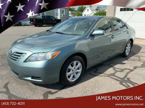2007 Toyota Camry for sale at James Motors Inc. in East Longmeadow MA