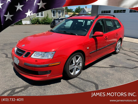 2006 Saab 9-3 for sale at James Motors Inc. in East Longmeadow MA