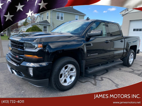 2017 Chevrolet Silverado 1500 for sale at James Motors Inc. in East Longmeadow MA