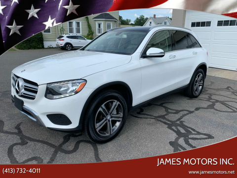 2017 Mercedes-Benz GLC for sale at James Motors Inc. in East Longmeadow MA