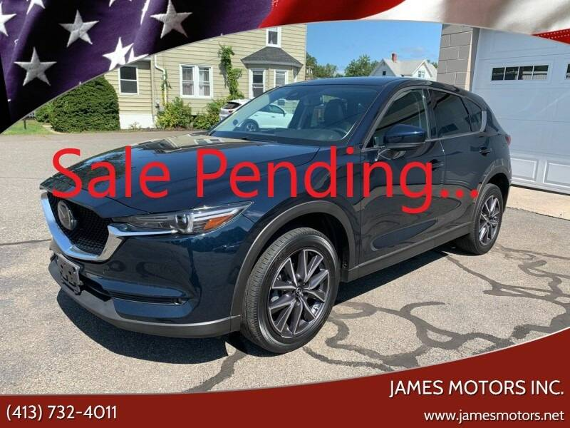 2017 Mazda CX-5 for sale at James Motors Inc. in East Longmeadow MA