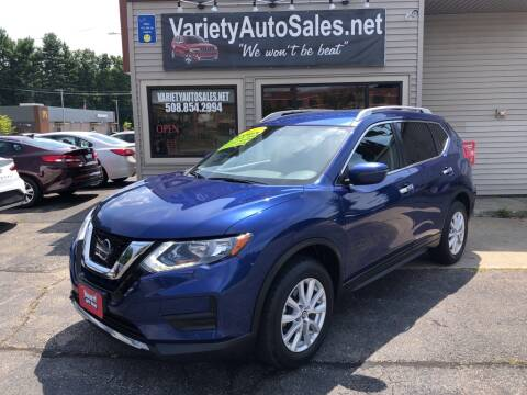 2017 Nissan Rogue for sale at Variety Auto Sales in Worcester MA