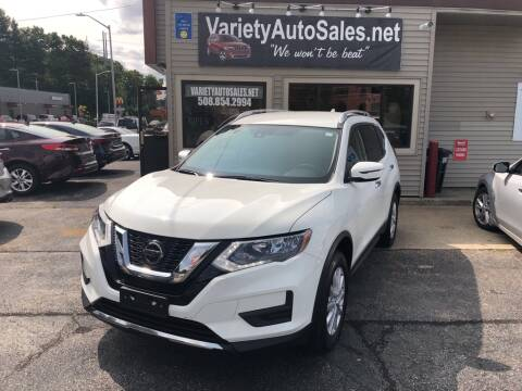 2020 Nissan Rogue for sale at Variety Auto Sales in Worcester MA