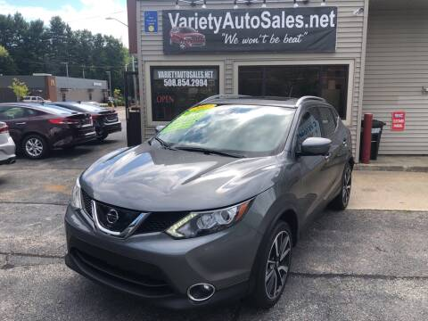 2017 Nissan Rogue Sport for sale at Variety Auto Sales in Worcester MA