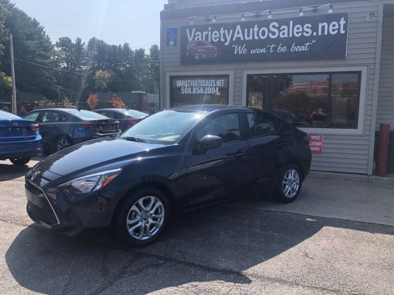 2018 Toyota Yaris iA for sale at Variety Auto Sales in Worcester MA