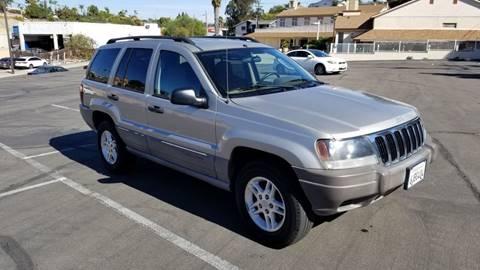 2003 Jeep Grand Cherokee for sale at AA Auto Sale in La Mesa CA