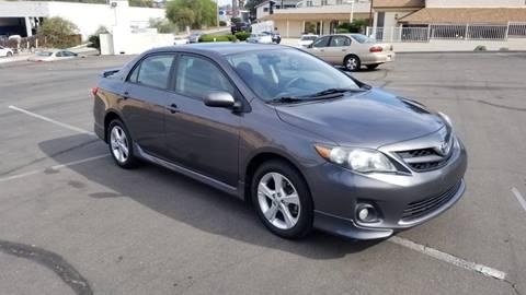 2013 Toyota Corolla for sale at AA Auto Sale in La Mesa CA