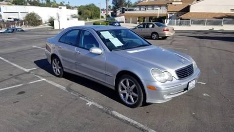 2004 Mercedes-Benz C-Class for sale at AA Auto Sale in La Mesa CA