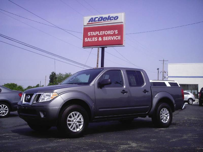 42001709a6 2016 Nissan Frontier 4x4 SV 4dr Crew Cab 5 ft. SB Pickup 5A In Saint ...