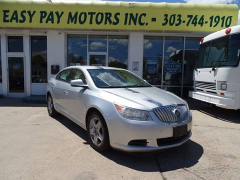 2010 Buick LaCrosse for sale in Denver, CO
