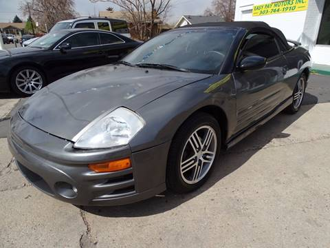 2003 Mitsubishi Eclipse Spyder for sale in Denver, CO