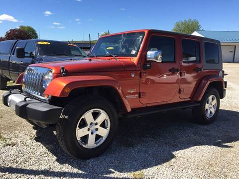 2009 Jeep Wrangler Unlimited for sale at Corry Pre Owned Auto Sales in Corry PA