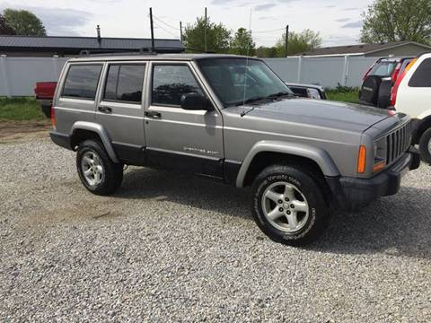 2001 Jeep Cherokee for sale at Corry Pre Owned Auto Sales in Corry PA