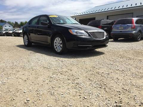 2014 Chrysler 200 for sale at Corry Pre Owned Auto Sales in Corry PA