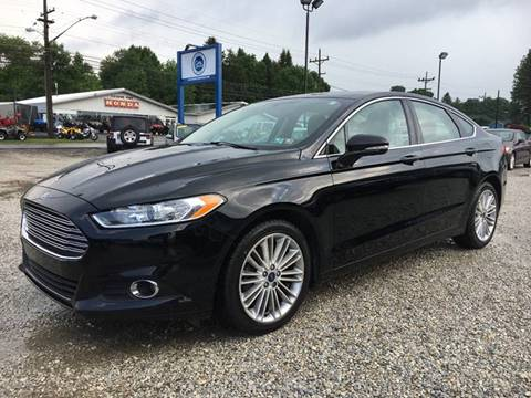 2016 Ford Fusion for sale at Corry Pre Owned Auto Sales in Corry PA