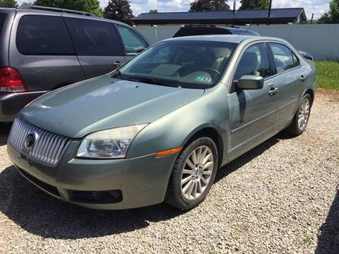 2008 Mercury Milan for sale at Corry Pre Owned Auto Sales in Corry PA