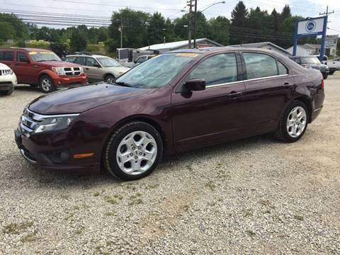 2011 Ford Fusion for sale at Corry Pre Owned Auto Sales in Corry PA