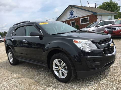 2011 Chevrolet Equinox for sale at Corry Pre Owned Auto Sales in Corry PA