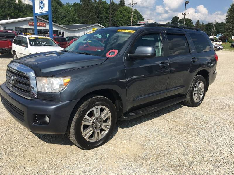 2008 Toyota Sequoia for sale at Corry Pre Owned Auto Sales in Corry PA