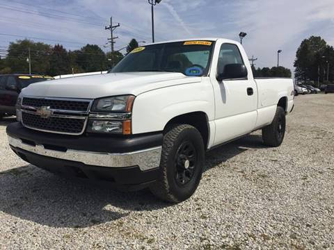 2006 Chevrolet Silverado 1500 for sale at Corry Pre Owned Auto Sales in Corry PA