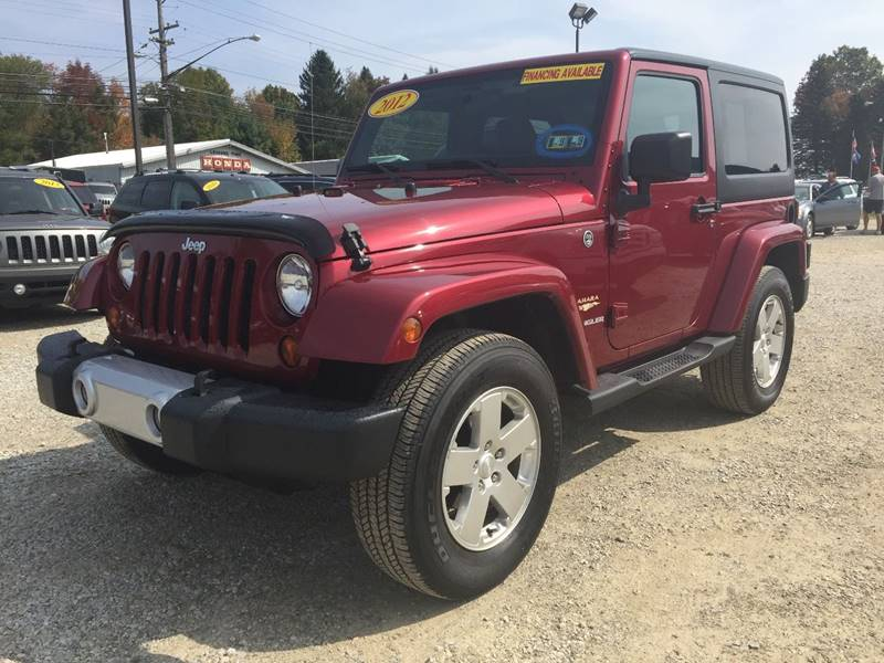 2012 Jeep Wrangler for sale at Corry Pre Owned Auto Sales in Corry PA