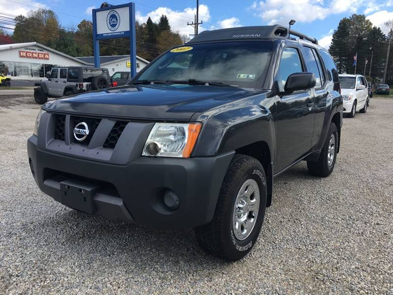 2007 Nissan Xterra for sale at Corry Pre Owned Auto Sales in Corry PA
