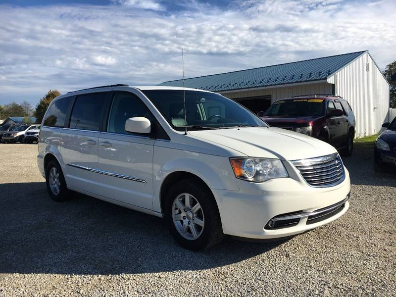 2012 Chrysler Town and Country for sale at Corry Pre Owned Auto Sales in Corry PA