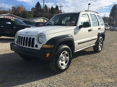 2006 Jeep Liberty for sale at Corry Pre Owned Auto Sales in Corry PA