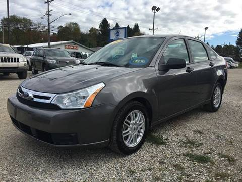 2009 Ford Focus for sale at Corry Pre Owned Auto Sales in Corry PA