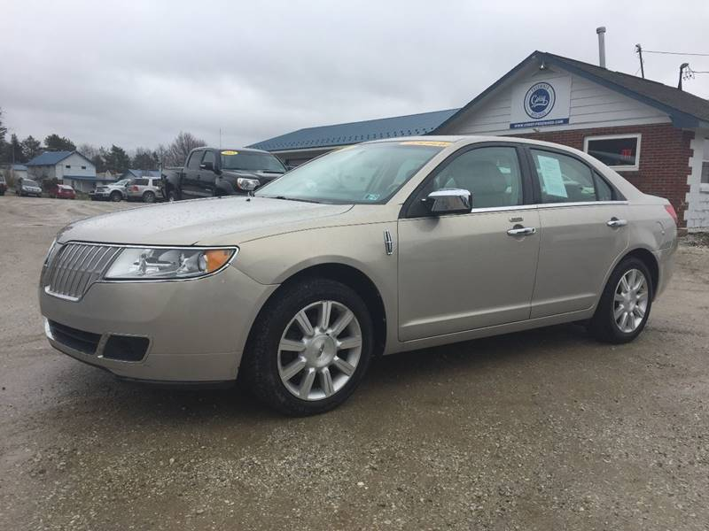 2010 Lincoln Mkz In Corry Pa Corry Pre Owned Auto Sales