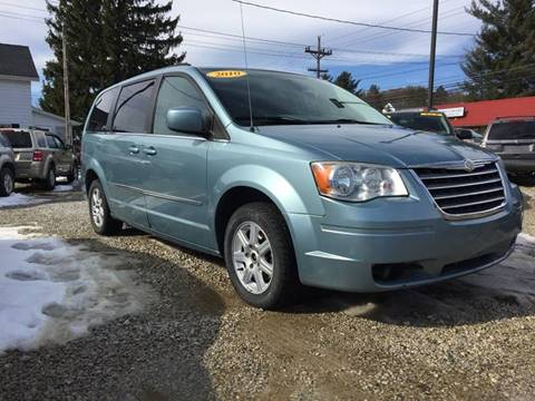2010 Chrysler Town and Country for sale at Corry Pre Owned Auto Sales in Corry PA