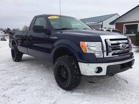 2012 Ford F-150 for sale at Corry Pre Owned Auto Sales in Corry PA