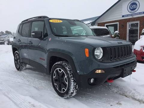 2015 Jeep Renegade for sale at Corry Pre Owned Auto Sales in Corry PA