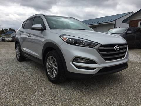 2016 Hyundai Tucson for sale at Corry Pre Owned Auto Sales in Corry PA