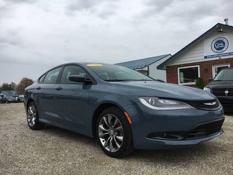 2015 Chrysler 200 for sale at Corry Pre Owned Auto Sales in Corry PA