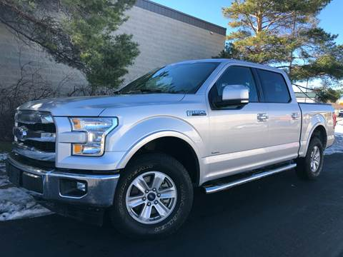 2017 Ford F-150 Lariat for sale at Konig Automotive Group in Orem UT