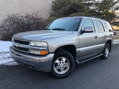 2001 Chevrolet Tahoe LT for sale at Konig Automotive Group in Orem UT