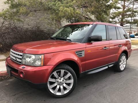 2007 Land Rover Range Rover Sport Supercharged for sale at Konig Automotive Group in Orem UT