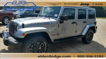 2017 Jeep Wrangler Unlimited for sale in Athens, TX