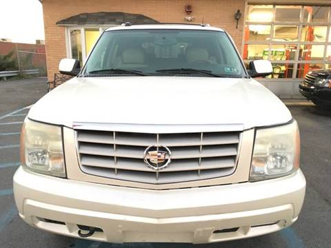 2004 Cadillac Escalade for sale in Whitehall, PA