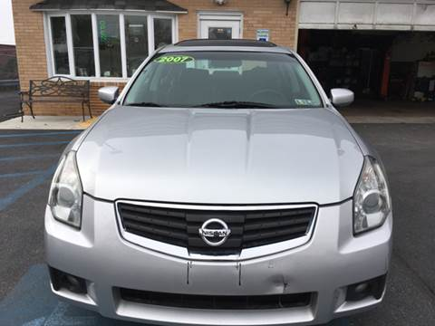 2007 Nissan Maxima for sale in Whitehall, PA