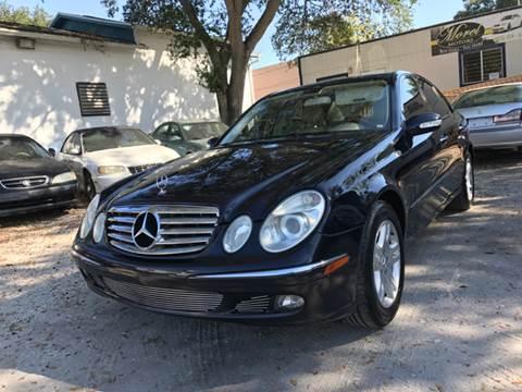 2005 Mercedes-Benz E-Class for sale in Tampa, FL