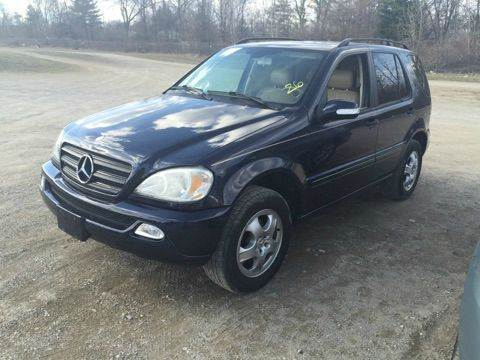 2003 Mercedes-Benz M-Class for sale at Or Best Offer Motorsports in Columbus OH