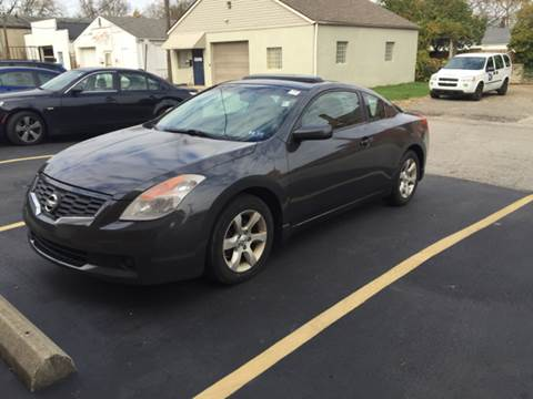 2008 Nissan Altima for sale at Or Best Offer Motorsports in Columbus OH